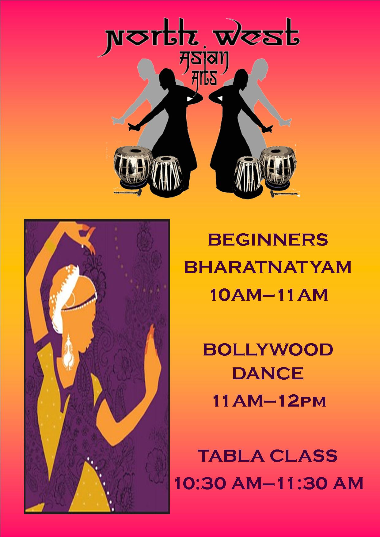 learn traditional indian dance with north west asian arts