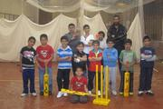 Ghosia Youth Voice held weekly cricket training during the school holidays